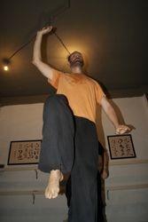 Jesus practica Taiji