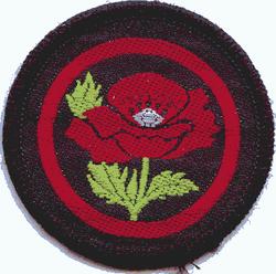 Poppy Patrol Badge