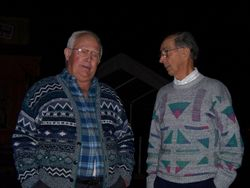 Dueling Sweaters!!!