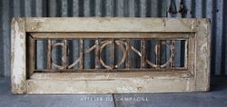 #28/102 FRENCH WINDOW GUARD IN FRAME