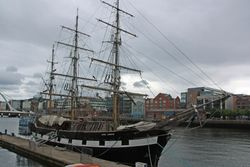 Jeannie Johnston famine ship in Dublin