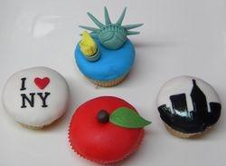 New York cupcakes
