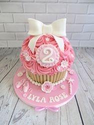 Ballerina Giant Cupcake