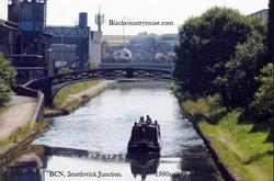Birmingham Canal Navigation. 1990s.