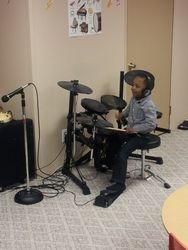 Genius on the drums