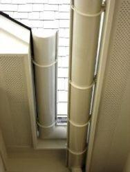Aluminum half round gutters