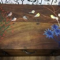 Handpainted trunk