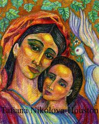 Bulgarian Madonna and Child 2