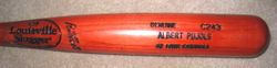 Albert Pujols 2002 Game Used C243 Louisville Slugger Bat