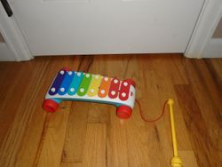 Fisher Price Brilliant Basics Classic Xylophone - $8