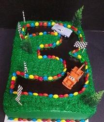 Disney Cars Cake #3