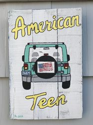 Jeep Pallet sign