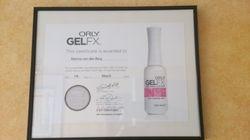 Certificaat Orly Gelfx