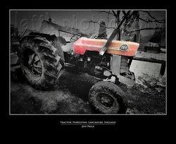 Tractor, Pendleton, Lancashire, England 1