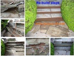 Rebuild Stone steps
