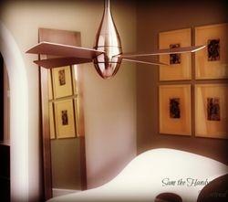 Designer's Ceiling fan installation
