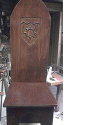 Custom Oak Chair