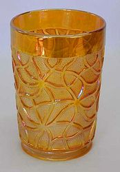 Soda Gold tumbler in marigold