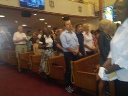 Everyone enjoying a powerful worship experience