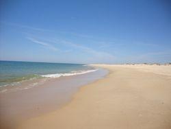 Ila de Tavira beach May 2010