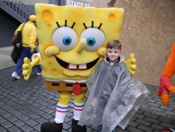 Riley and Sponge Bob