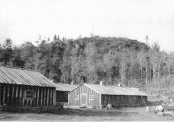 Mine buildings