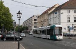 Variotram no. 430, heading East along Charlottenstraße