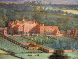 English or Flemish, Bifrons Park in Kent, c 1700, New Haven, MC