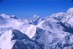 Mt. Huntington beyond Mt. Tripyramid