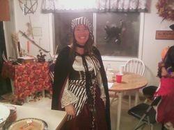 Gwen at Samhain 2012