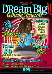 Dream Big Comedy Showcase