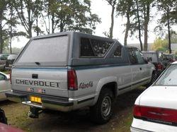 Chevrolet Silverado Extended Cap Pick Up DK2500 4X4 '92