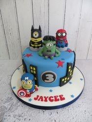 Jaycee's 3rd Birthday Cake
