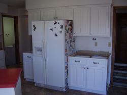 After cabinet reface