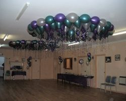 Ceiling Pearls Helium Filled Balloon Decor