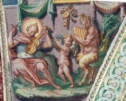 Apollo and Marsyas, Casino, Villa Lante