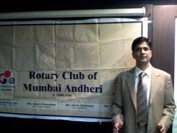At Rotary Club