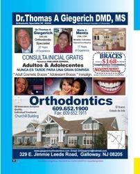 Dr, Thomas A. Giegerich DMD. MS