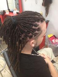 Dreadlocks started on Hispanic Texture Hair