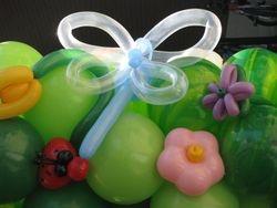 Nature Scene of Balloon Sculptures