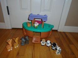 Fisher Price Little People Noah's Ark - $17