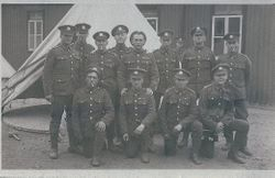 9th BATTALION - AT THE END OF THE  WAR