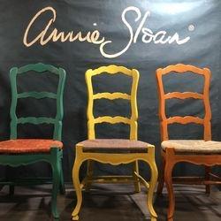 Chaise peinte Toronto Home show