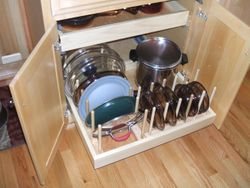 Pot lid rack