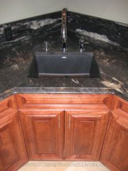 Granite Top and Undermount Sink