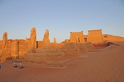 Lake Nasser : Temple of Wadi es Sabua