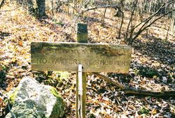 Blood Mountain Sign Post