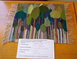 Tapestry weaving : winning entry