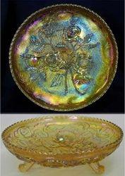Open Rose centre piece bowl, marigold