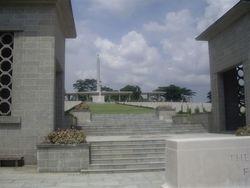 Entrance Kranji Cemetry